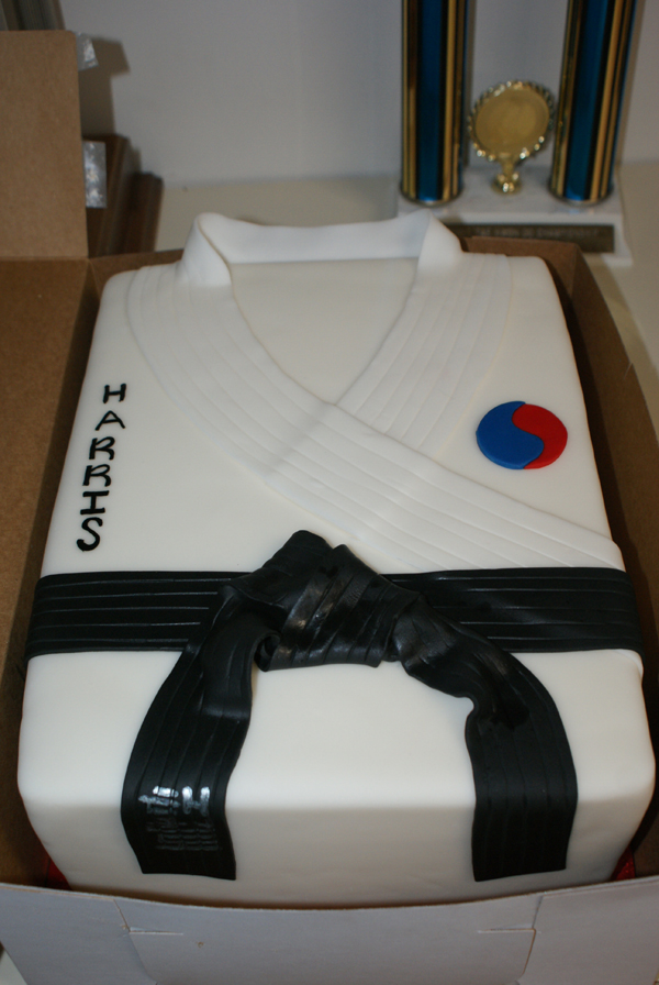 Sung Chos Tae Kwon Do - Special Order Birthday Cake